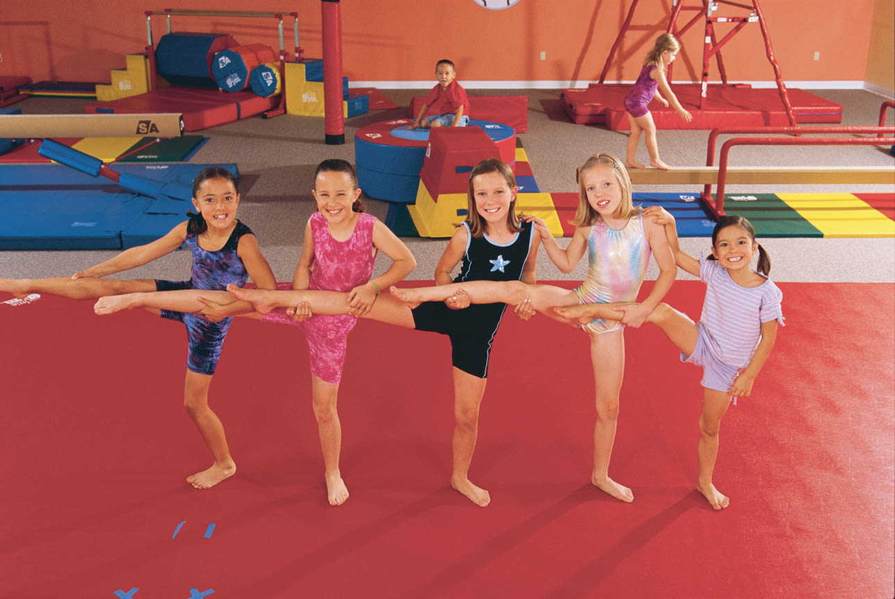 gymnastic kids